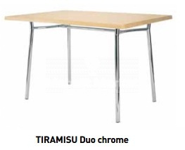 "Подстолье ""TIRAMISU Duo chrome"""